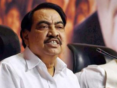 A file photo of Eknath Khadse. PTI