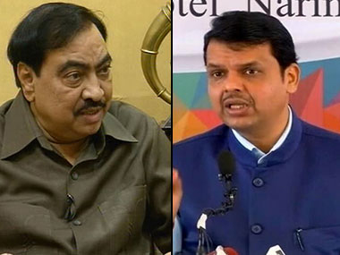 Brahmin versus OBC Maharashtra BJP faces internal crisis on Khadse episode