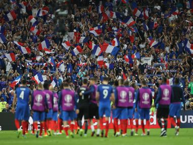 From the Euro 2016 stadium Versatile audience halfhearted French fandom David Guettas tunes