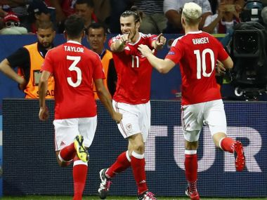 Wales moved above neighbours England in the latest FIFA rankings. AFP