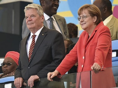 German Chancellor Merkel to campaign for general election after Prez Gauk backs out of race