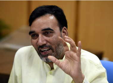 File photo of Gopal Rai. Getty images.