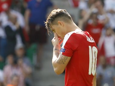 Euro 2016: Granit Xhaka will cope with penalty miss heartache, says Xherdan Shaqiri