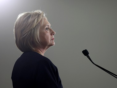 Hillary Clinton. Reuters