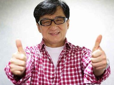 Jackie Chan. Image from IBNlive