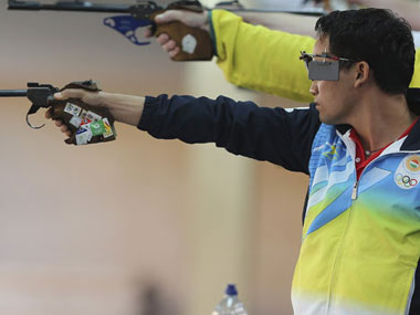 ISSF World Cup: Jitu Rai pips three-time Olympic champion to claim silver in 10m air
