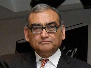 A file photo of Markandey Katju, who called Lodha Panel's BCCI reforms as illegal. PTI