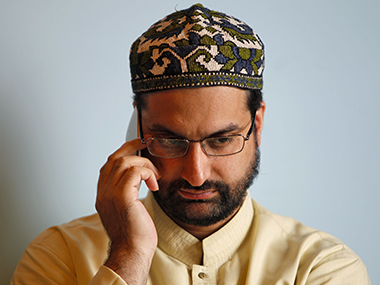 File photo of Mirwaiz Umar Farooq. Reuters