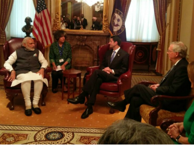 Ryan, who is a representative from Wisconsin's First District, received Prime Minister Modi at Capitol Hill. MEA