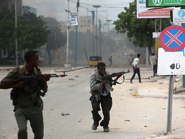 Suicide bomber disguised as policeman blows himself up inside Somalia police academy, several feared dead