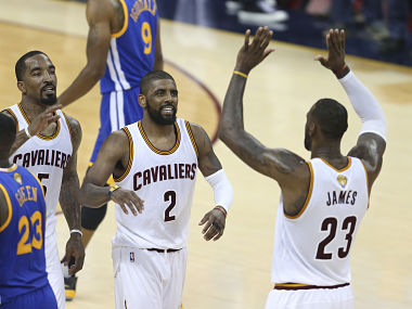LeBron James scored 41 points in Game 6 of the NBA Finals. AP