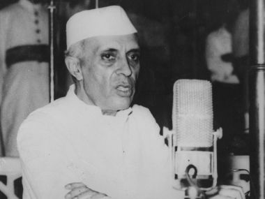 File image of former prime minister Jawaharlal Nehru. Getty Images