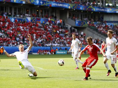 Euro 2016: One-dimensional Poland get out of jail one more time against Switzerland