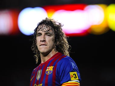 File image of Carles Puyol. Getty images