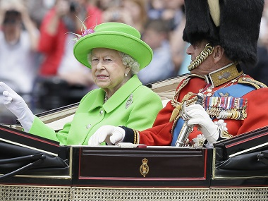 She makes us very proud Thousands attend Queen Elizabeths 90th birthday parade