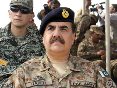 Pakistan will continue to support Kashmiris on diplomatic front Army chief Raheel Sharif