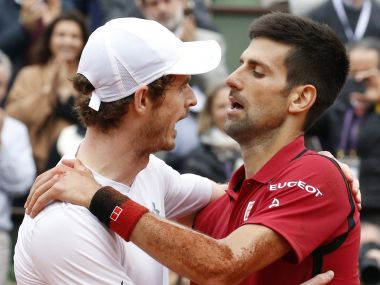 Wimbledon 2016 Andy Murray admires Novak Djokovics incredible consistency
