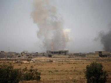 Chemical agent possibly found on rocket fired by Islamic State at US troops in Iraq