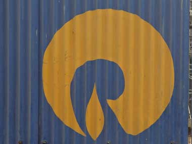 The Reliance Industries Limited logo. Reuters