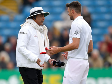 S. Ravi promoted to Elite Panel of umpires by ICC. Getty images