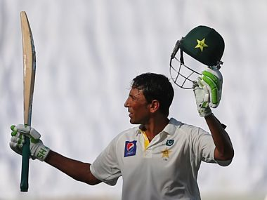 Younis Khan recently became the first Pakistani batsman to complete 9,000 Test runs. AFP
