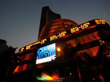 Sensex zooms 440 pts to over 13-month high, Nifty breaches 8,700
