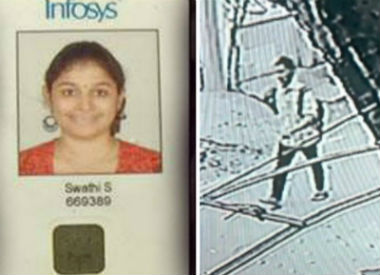 Cops release CCTV footage of suspect who stabbed Infosys employee in Chennai