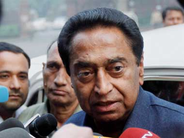 Kamal Nath resigned on his own volition Congress