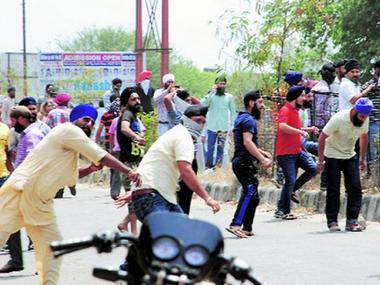 File photo of pro-Khalistan protests. Image courtesy: news18.com