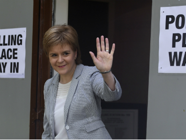 Scottish Parliament could block Brexit, says First Minister Nicola Sturgeon