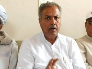 Jat leader Yashpal Malik claims attempt on his life after being slapped in Haryana