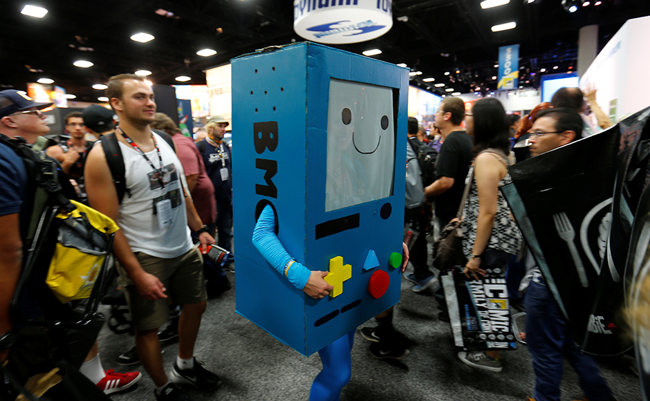 "Comic-Con is expected to draw more than 160,000 fans for high-energy sessions featuring casts and crews from such films and TV shows as ""Game of Thrones,"" ''Star Trek,"" ''Suicide Squad,"" ''South Park,"" ''Teen Wolf,"" ''Aliens"" and ""The Walking Dead."" Reuters"