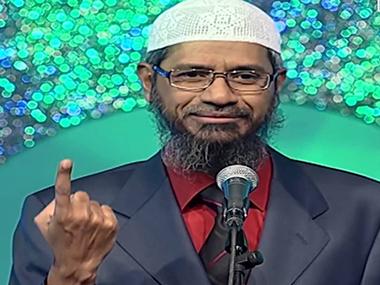 Peace TV head Zakir Naik. Image courtesy: YouTube