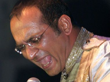 A file photo of Abhijeet Bhattacharya. AFP