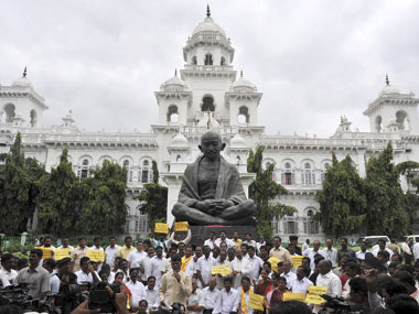 Andhra Pradesh assembly. AFP