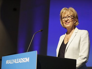 Andrea Leadsom. Reuters