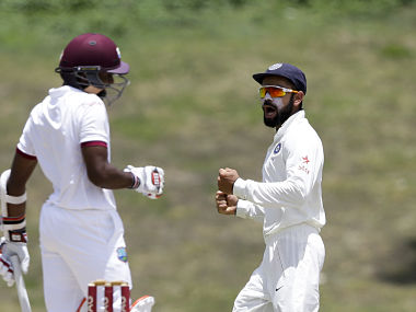 Virat Kohli scored a double century which along with Ravichandran Ashwin's century laid the foundation for the win. AP