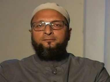 A file photo of Asaduddin Owaisi. Image courtesy: IBNLive