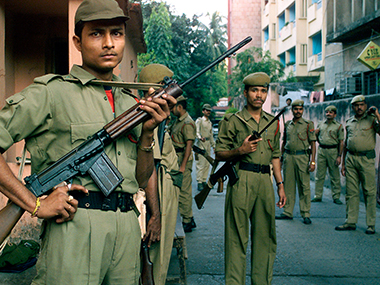 Representational image of the Assam police. Reuters