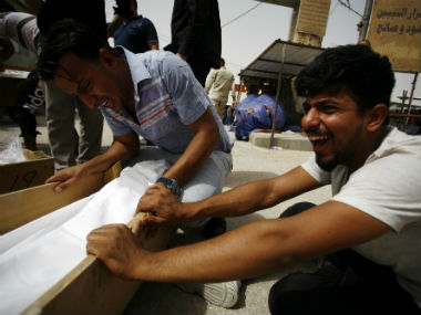 The bombing in Baghdad killed at least 119 people. AFP