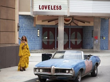 Beyonce in a scene from her special, Lemonade. AP.