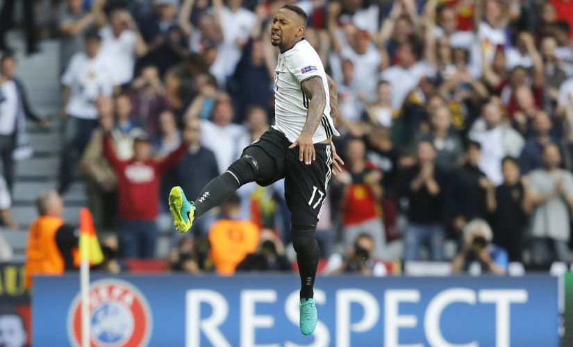 Jerome Boateng will spearhead the German defence. AP