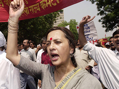 File image of Brinda Karat. AFP
