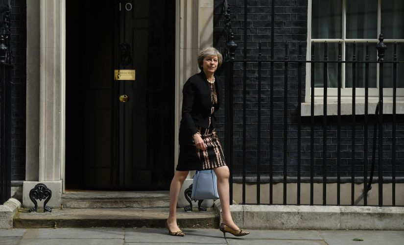 British Home Secretary Theresa May. AFP