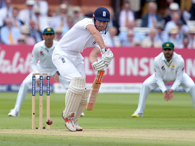 Alastair Cook scored a modest 8 in the fourth innings while chasing 283. AP