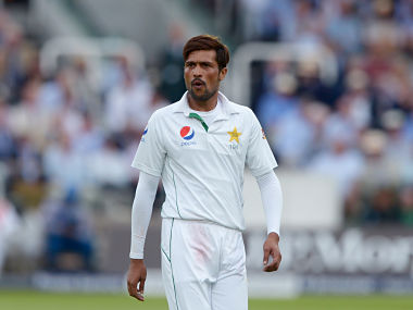 Mohammad Amir took the last wicket of England which sealed the first Test for Pakistan. AP