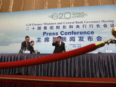 The gathering of finance ministers and central bank governors took place against a backdrop of a weak global recovery, tension over Chinese exports of low-priced steel and Britain's EU vote, which jolted global markets. AP