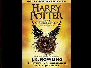 Harry Potter and the Cursed Child is now the eighth book in the series