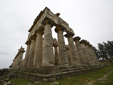 The ancient ruins of Cyrene. Reuters