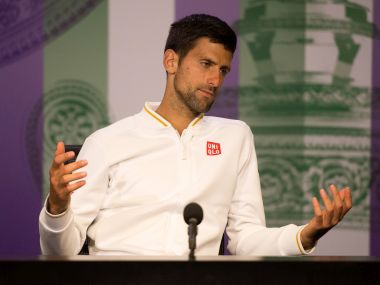Novak Djokovic has turned his attention to the Rio Olympics after his Wimbledon loss. Getty